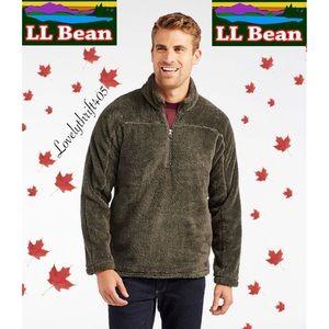 L.L. Bean Winterloft Fleece Quarter-Zip Pullover